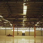 Interior de la fábrica Eurofren en Ólvega
